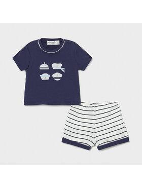 Mayoral Mayoral Set T-Shirt und Shorts 1204 Dunkelblau Regular Fit
