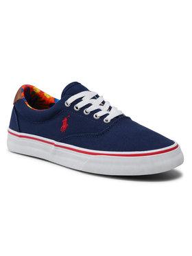Polo Ralph Lauren Polo Ralph Lauren Πάνινα παπούτσια Thorton 816829749002 Σκούρο μπλε