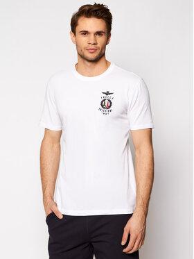 Aeronautica Militare Aeronautica Militare T-shirt 211TS1837J507 Blanc Regular Fit
