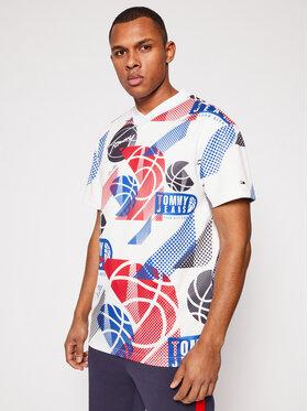 Tommy Jeans Tommy Jeans Marškinėliai Tjm Basketball Graphic DM0DM10609 Spalvota Regular Fit