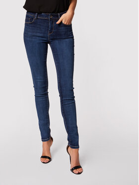 Morgan Morgan Jeans 201-POM.P Dunkelblau Slim Fit