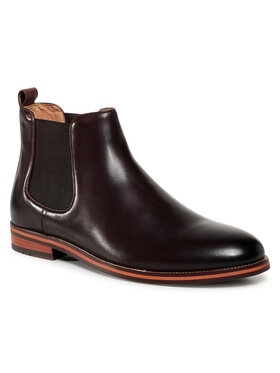 Digel Digel Kotníková obuv s elastickým prvkem Sandro 1001918 Hnědá