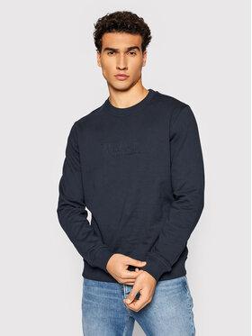 Woolrich Woolrich Majica dugih rukava Luxury CFWOSW0101MRUT2724 Tamnoplava Regular Fit