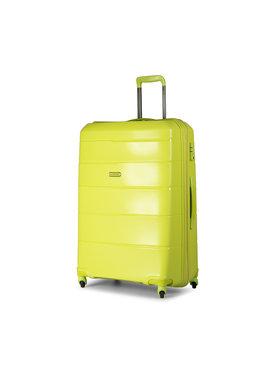 Puccini Puccini Nagy kemény borítású bőrönd Bahamas PP016A 5 Zöld