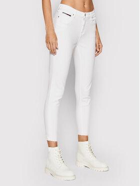 Tommy Jeans Tommy Jeans Džinsai Nora DW0DW09551 Balta Skinny Fit