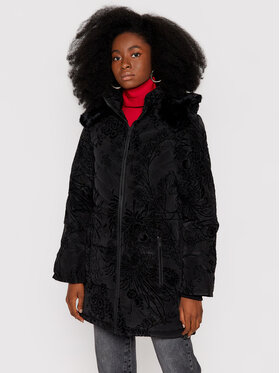 Desigual Desigual Pernata jakna Japan 21WWEW02 Crna Regular Fit