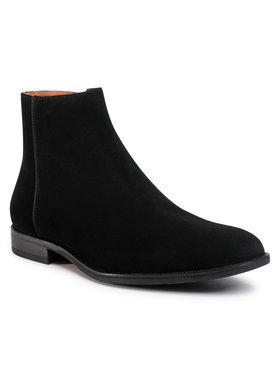 Gino Rossi Gino Rossi Kotníková obuv MI08-C796-798-03 Černá