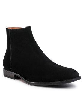 Gino Rossi Gino Rossi Šnurovacia obuv MI08-C796-798-03 Čierna