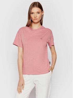 Napapijri Napapijri T-Shirt Salis Ss W 2 NP0A4FSL Růžová Regular Fit