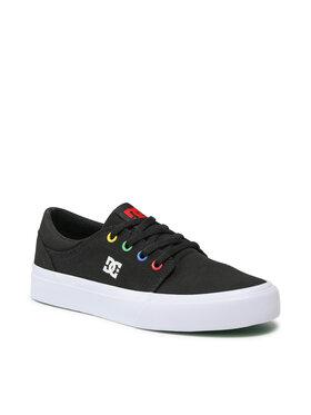 DC DC Sneakers aus Stoff Trase ADBS300138 Schwarz