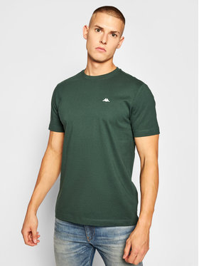 Kappa Kappa Тишърт Hauke 308010 Зелен Regular Fit