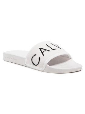 Calvin Klein Jeans Calvin Klein Jeans Šľapky Slide Padded Ck Pes-Pu YW0YW00131 Béžová