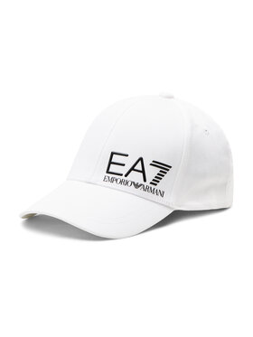 EA7 Emporio Armani EA7 Emporio Armani Шапка с козирка 275936 1P103 00010 Бял