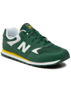 New Balance New Balance Sneakersy YC393BGR Zielony