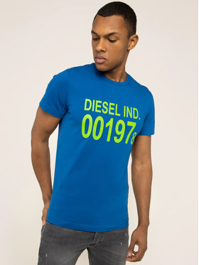 Diesel Diesel T-shirt T-Diego-001978 00SASA 0AAXJ Bleu Regular Fit