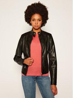 Calvin Klein Jeans Calvin Klein Jeans Kožená bunda J20J214469 Čierna Slim Fit