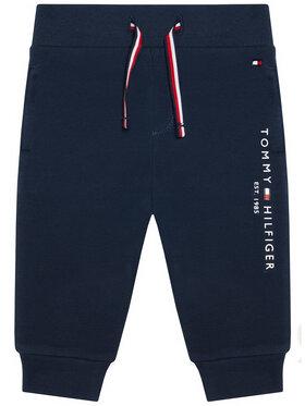 Tommy Hilfiger Tommy Hilfiger Spodnie dresowe Essential KN0KN01281 Granatowy Regular Fit