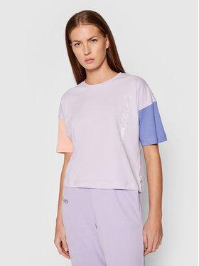 Puma Puma T-Shirt Rebel Fashion 585737 Fioletowy Relaxed Fit