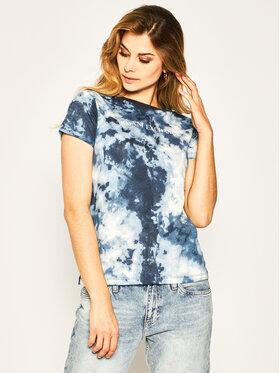 Armani Exchange Armani Exchange Marškinėliai 3HYTHA YJJBZ 1593 Mėlyna Regular Fit
