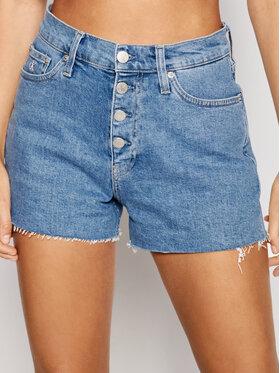 Calvin Klein Jeans Calvin Klein Jeans Kratke traperice Woven J20J217222 Plava Regular Fit