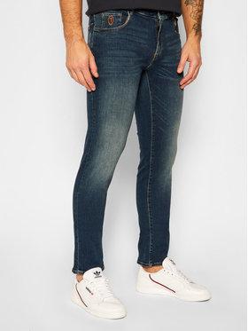 Trussardi Jeans Trussardi Jeans Close Fit džínsy 370 52J00000 Modrá Close Fit