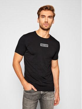 Iceberg Iceberg T-Shirt 20II1P0F0106309 Czarny Regular Fit