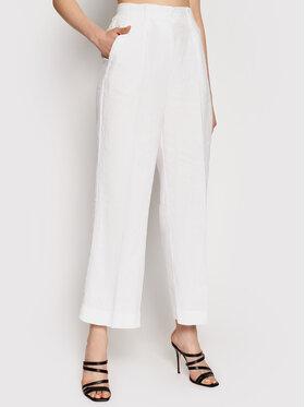 Marc O'Polo Marc O'Polo Текстилни панталони 104 0645 10101 Бял Regular Fit