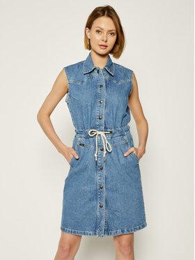 Lee Lee Džinsinė suknelė Drawstring L50HGAZE Mėlyna Regular Fit