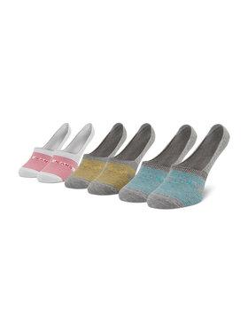 Pepe Jeans Pepe Jeans Súprava 3 párov kotníkových ponožiek dámských Lynny PLU10579 Sivá