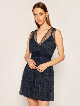 Liu Jo Liu Jo Kokteilinė suknelė IF0018 J1858 Tamsiai mėlyna Regular Fit