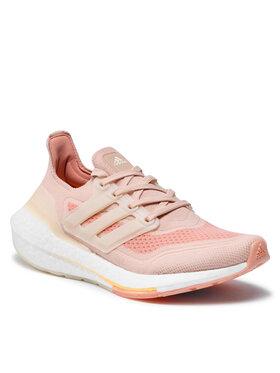adidas adidas Pantofi Ultraboost 21 W S23838 Roz