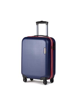 Wittchen Wittchen Kis kemény borítású bőrönd 56-3-610-90 Sötétkék