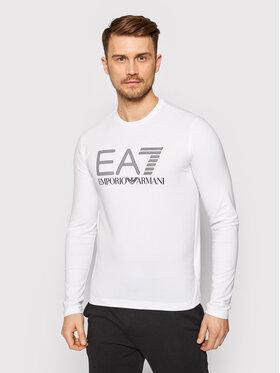 EA7 Emporio Armani EA7 Emporio Armani Manches longues 3KPT64 PJ03Z 1100 Blanc Regular Fit