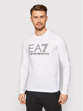EA7 Emporio Armani EA7 Emporio Armani Marškinėliai ilgomis rankovėmis 3KPT64 PJ03Z 1100 Balta Regular Fit