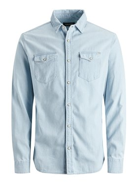 Jack&Jones Jack&Jones Košile Sheridan 12138115 Modrá Slim Fit