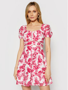 Guess Guess Letné šaty W1GK1A WDVB1 Ružová Regular Fit