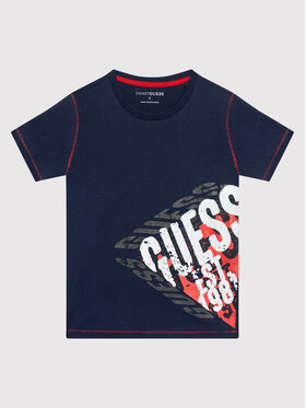 Guess Guess T-shirt L1BI12 I3Z11 Blu scuro Regular Fit