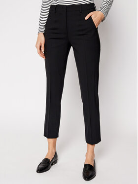 Weekend Max Mara Weekend Max Mara Chinos Antille 51311017 Schwarz Regular Fit