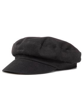 Calvin Klein Calvin Klein Kepurė su snapeliu Embroidery Logo Baker Hat K60K606729 Juoda
