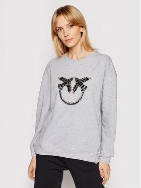 Pinko Pinko Sweatshirt PE 21 BLK01 1G160Y Y722 Gris Regular Fit