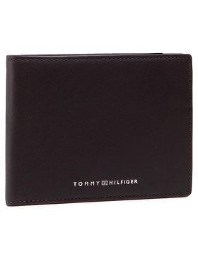 Tommy Hilfiger Tommy Hilfiger Veľká pánska peňaženka Th Metro Cc Flap And Coin AM0AM07304 Hnedá