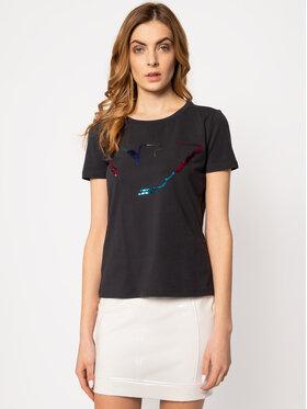 Emporio Armani Emporio Armani T-Shirt 3H2T6C 2JQAZ 0922 Tmavomodrá Regular Fit