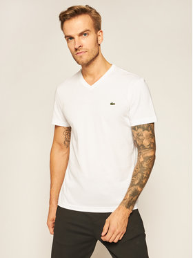 Lacoste Lacoste T-Shirt TH2036 Bílá Regular Fit