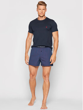 Emporio Armani Underwear Emporio Armani Underwear Piżama 111339 1P576 23534 Granatowy
