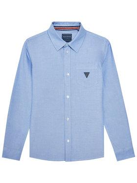 Guess Guess Koszula L1RH07 W9CL0 Niebieski Regular Fit