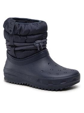Crocs Crocs Снігоходи Classic Neo Puff Luxe Boot W 207312 Cиній