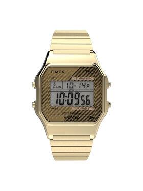 Timex Timex Hodinky T80 TW2R79000 Zlatá