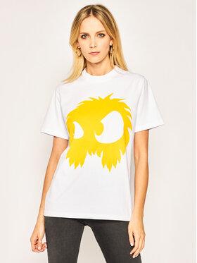 MCQ Alexander McQueen MCQ Alexander McQueen T-Shirt 583304 ROT49 9164 Bílá Regular Fit