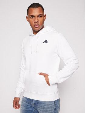 Kappa Kappa Sweatshirt Vend 707390 Weiß Regular Fit