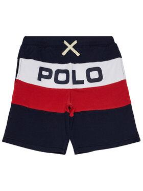 Polo Ralph Lauren Polo Ralph Lauren Šortky z materiálu Summer II 323786440001 Tmavomodrá Regular Fit